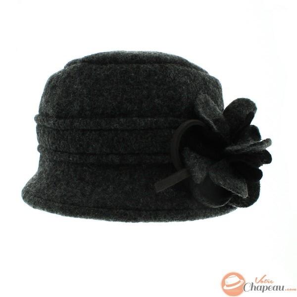 all'avanguardia dei tempi design professionale vestibilità classica Cappello cloche donna lana cotta con fiore