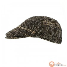 Fancy check Irish hat