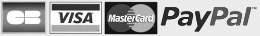 Plusieurs moyens de paiement sécurisé en ligne sont disponibles : Mastercard, CB, Visa et Paypal