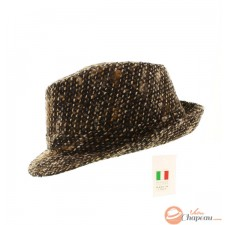 Thick wool fabric trilby
