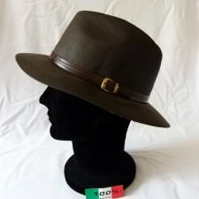 Chapeau australien coton huilé