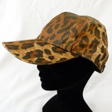 Casquette léopard