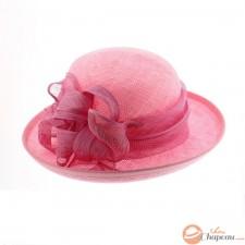Rubis - Chapeau de cérémonie