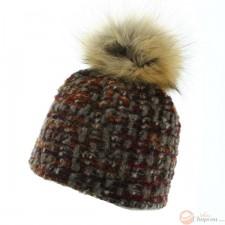 Mirabel - Bonnet laine tricoté